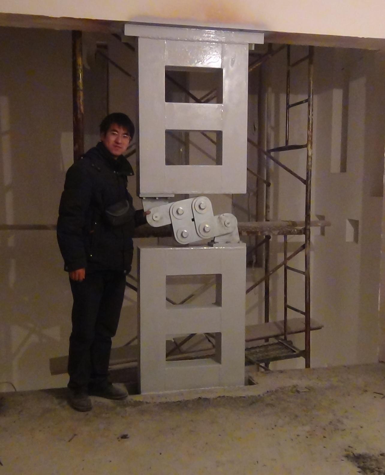 Panel Damper installed in building