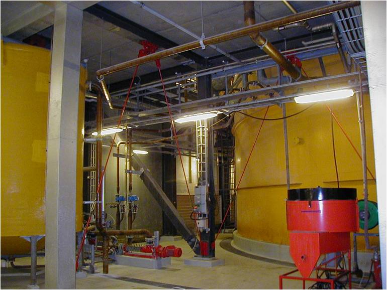 Dampers installed in Powerplant to reduce machine vibration
