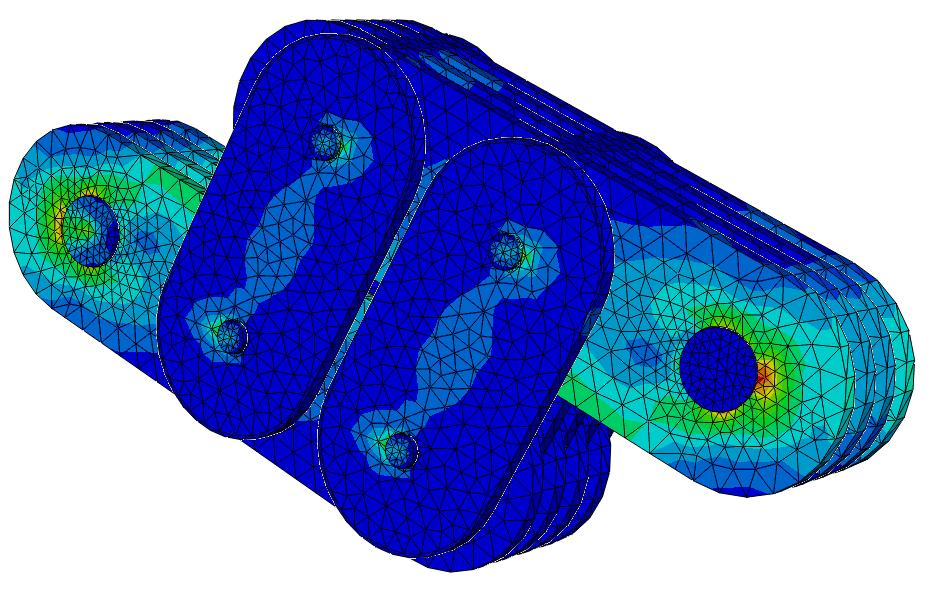 Finite Element Analysis of Stresses on Damptech 4J Damper