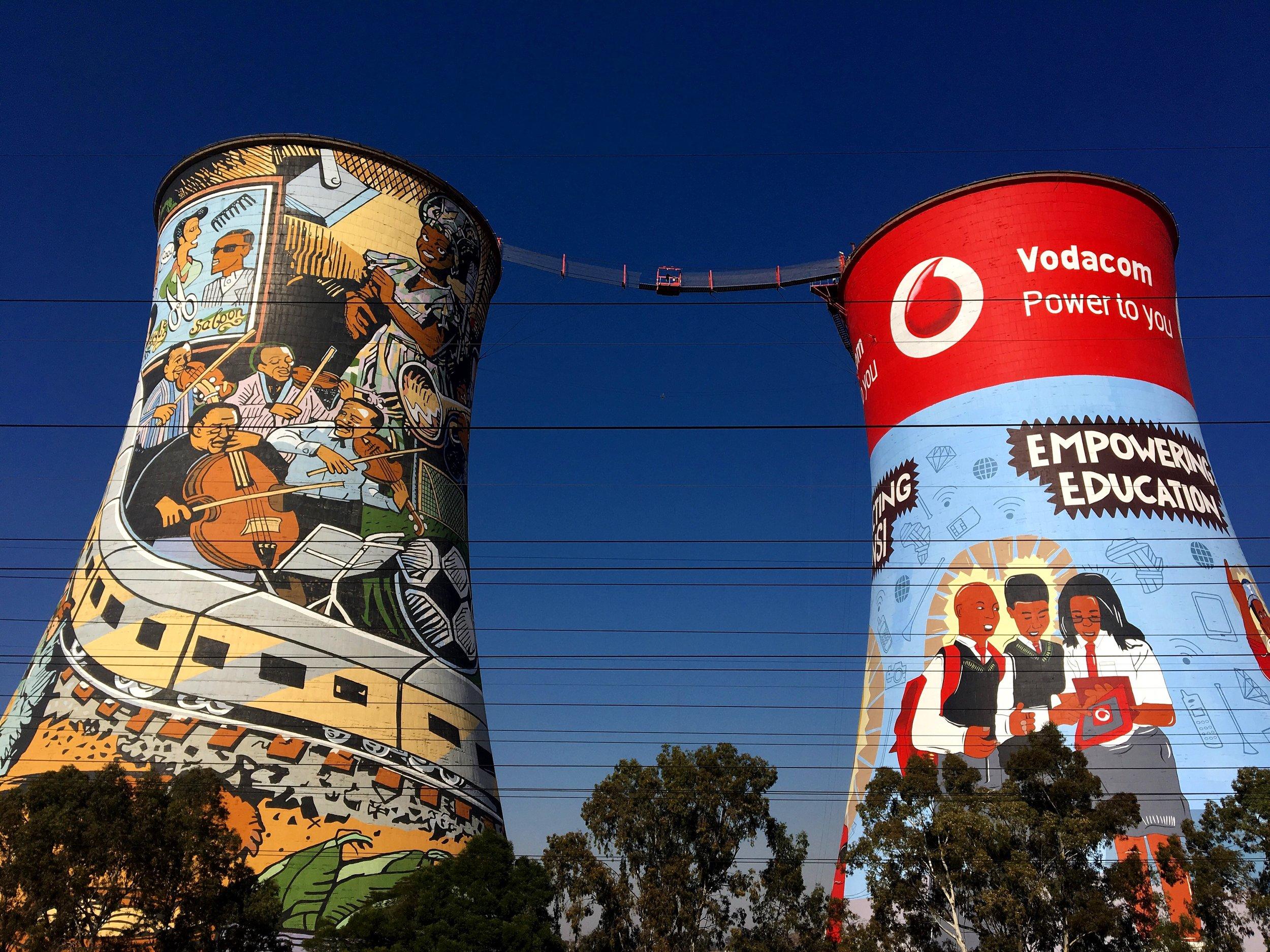 Orlando Towers / Johannesburg / South Africa