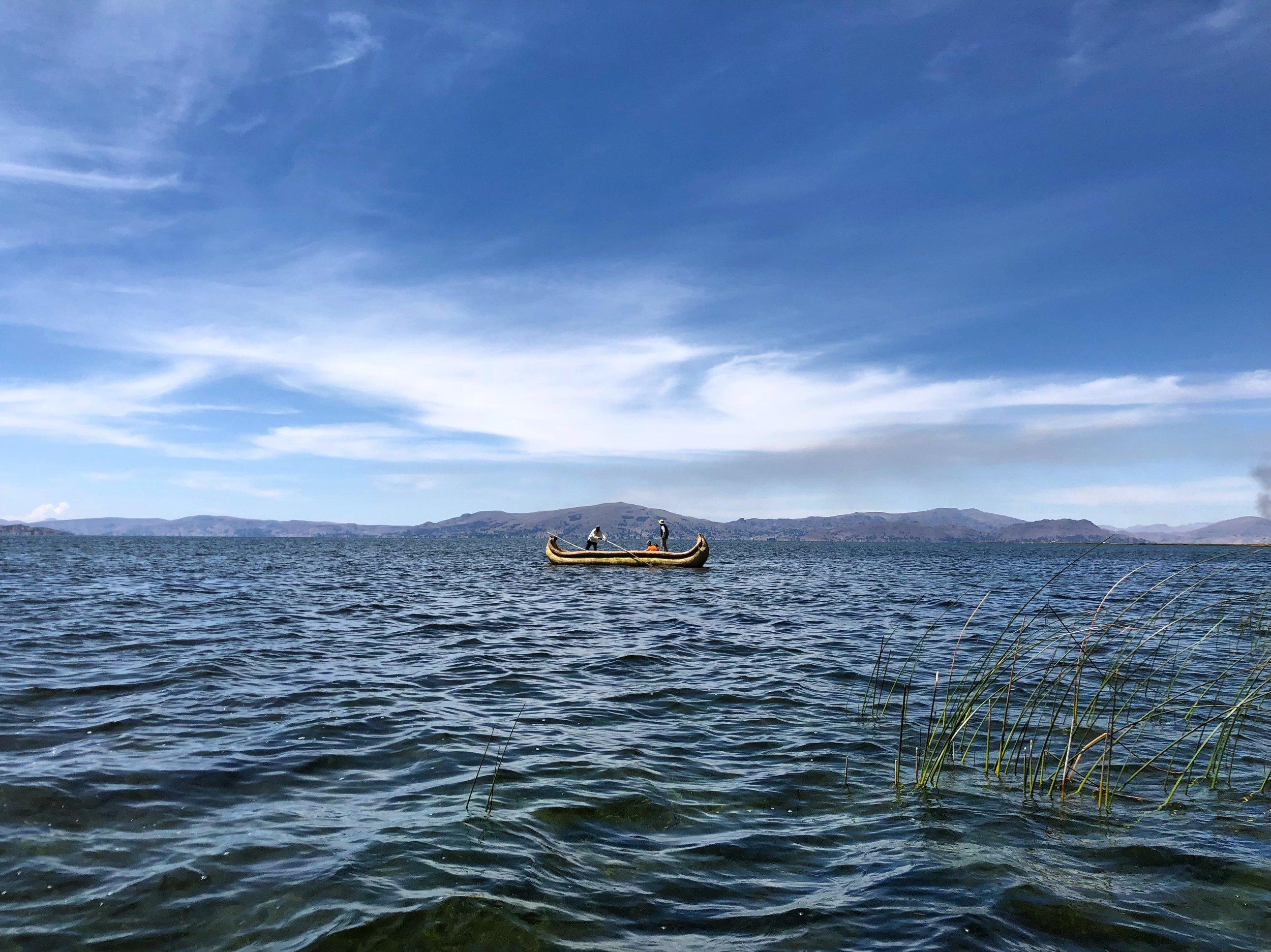 Uros Floating Islands / Lake Titicaca / Peru