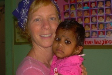Jenny with Payal, 2006.