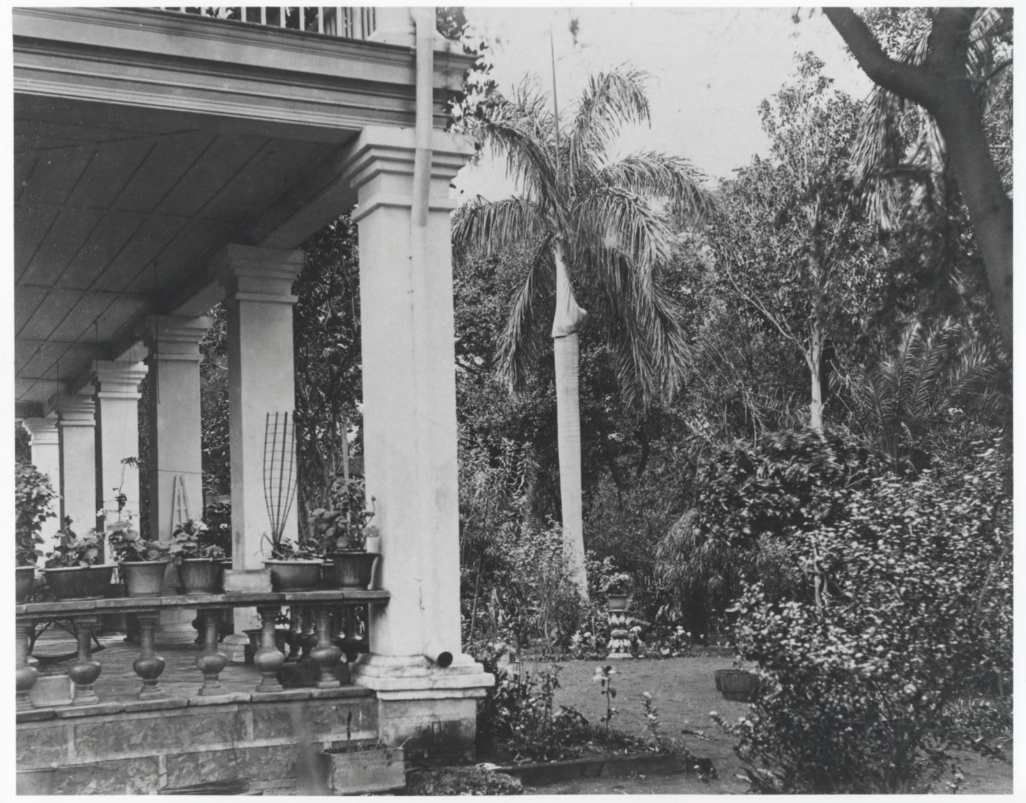 Washington Place, Honolulu, Hawaii, 1886.   Bishop Museum