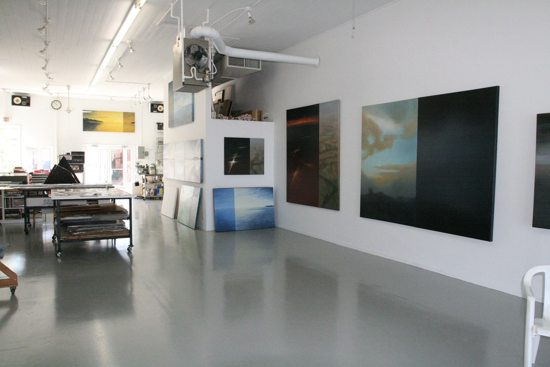 Doug's studio