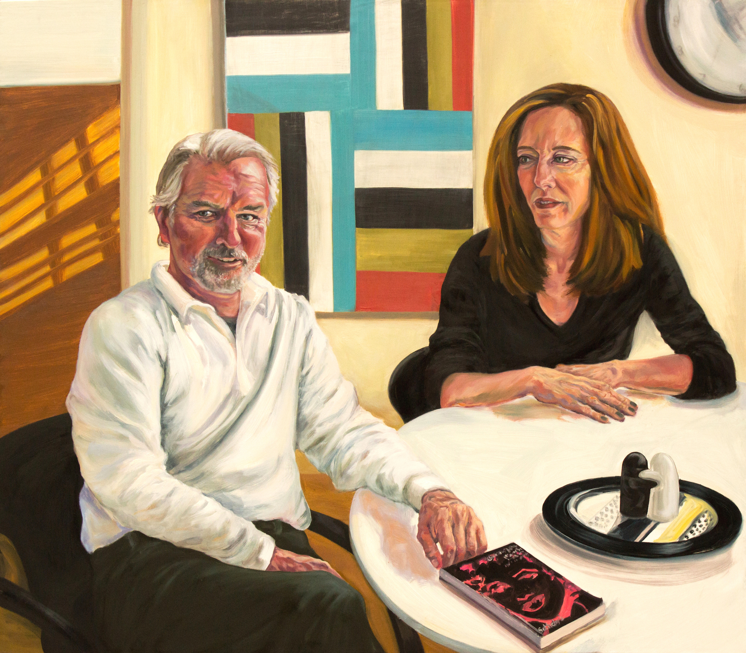 """The Modernists,  42""""x48"""", oil on canvas"""