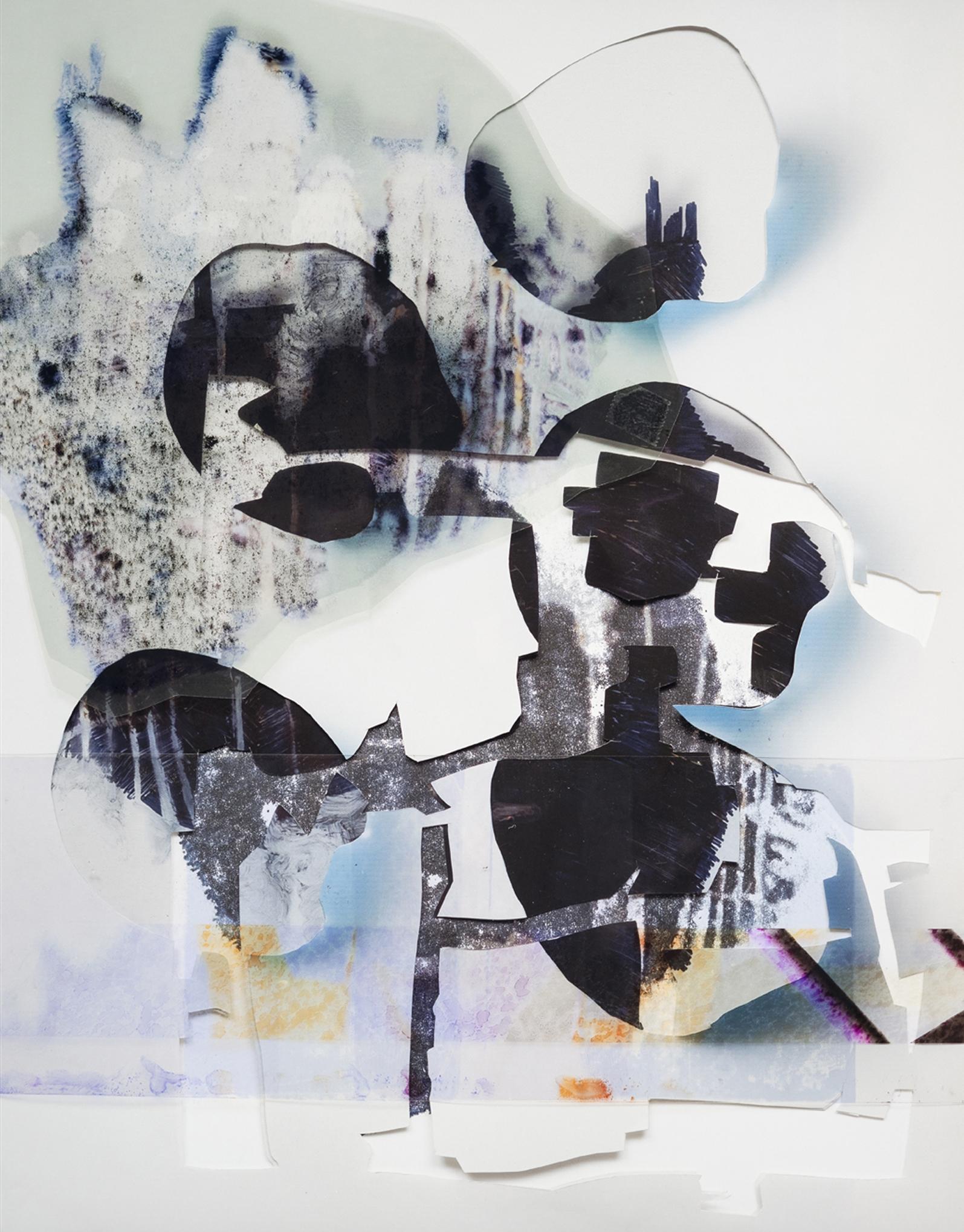 "Rebecca A., Painting III; 78""x60"",  mixed media"
