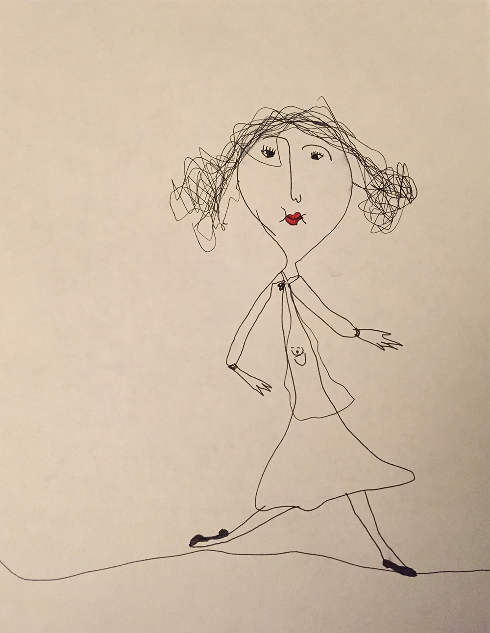 Childhood Drawing, Chamisa K.