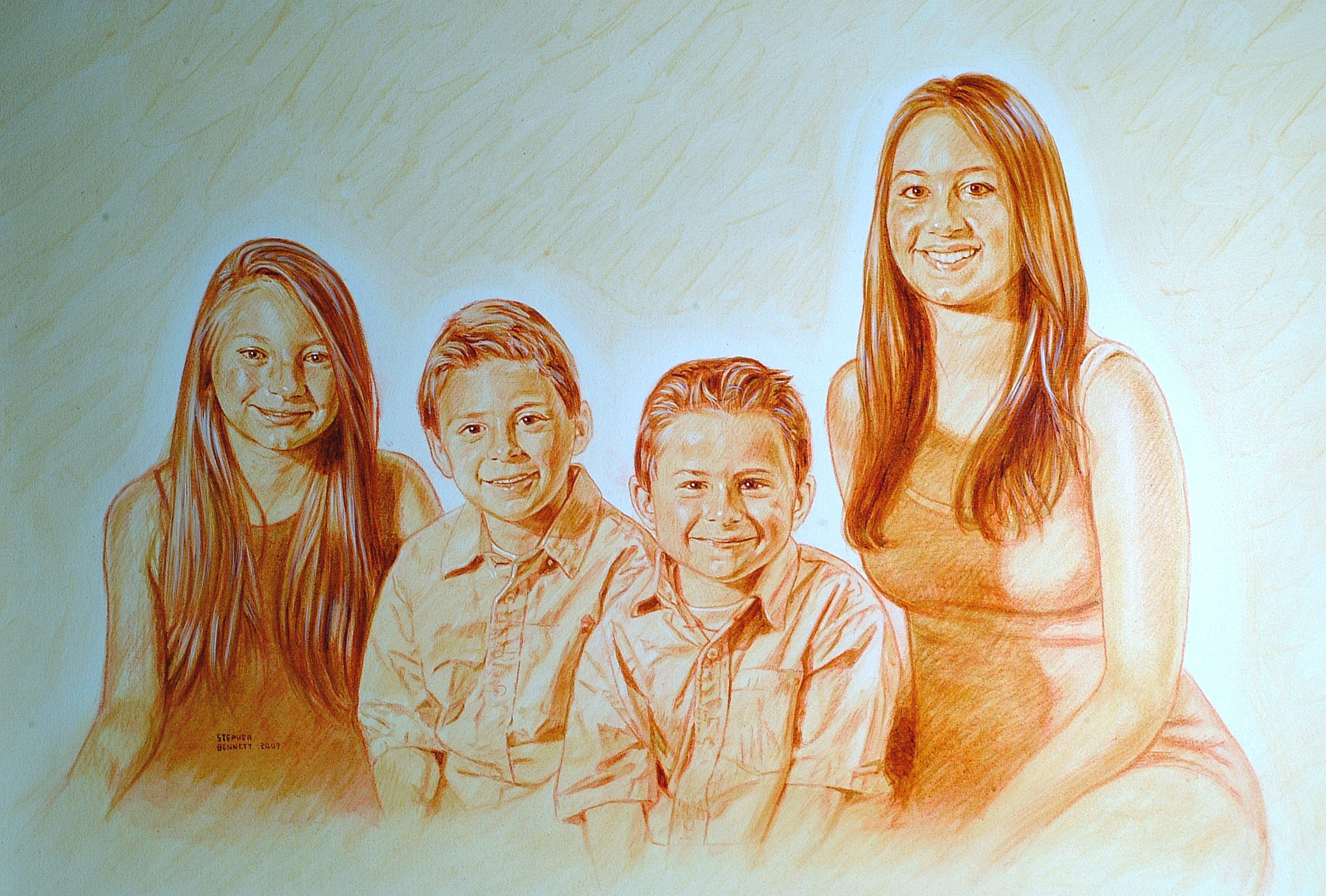 Commission:  Roland's Grandkids