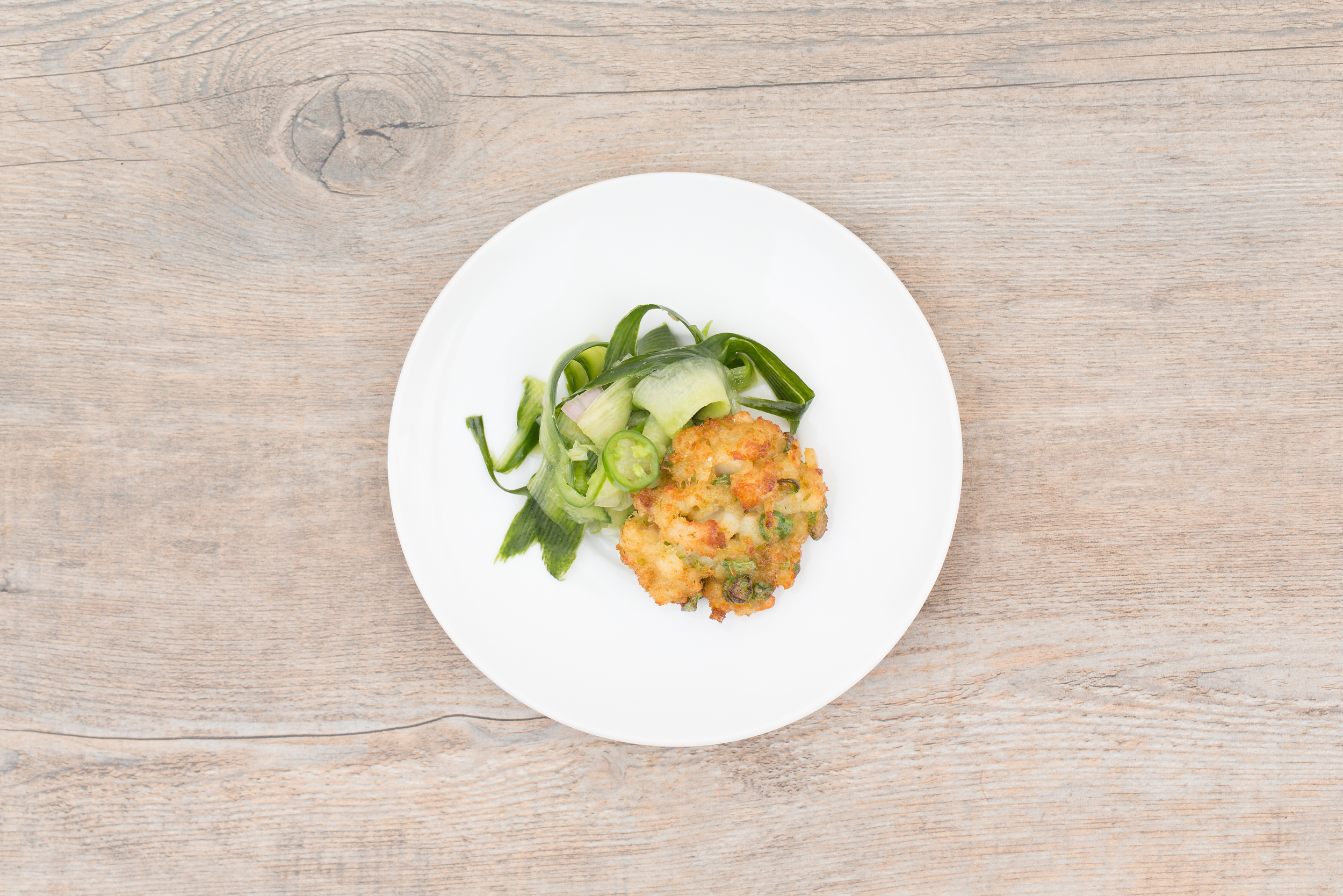 Spicy Thai Fish Cakes with Cucumber Relish
