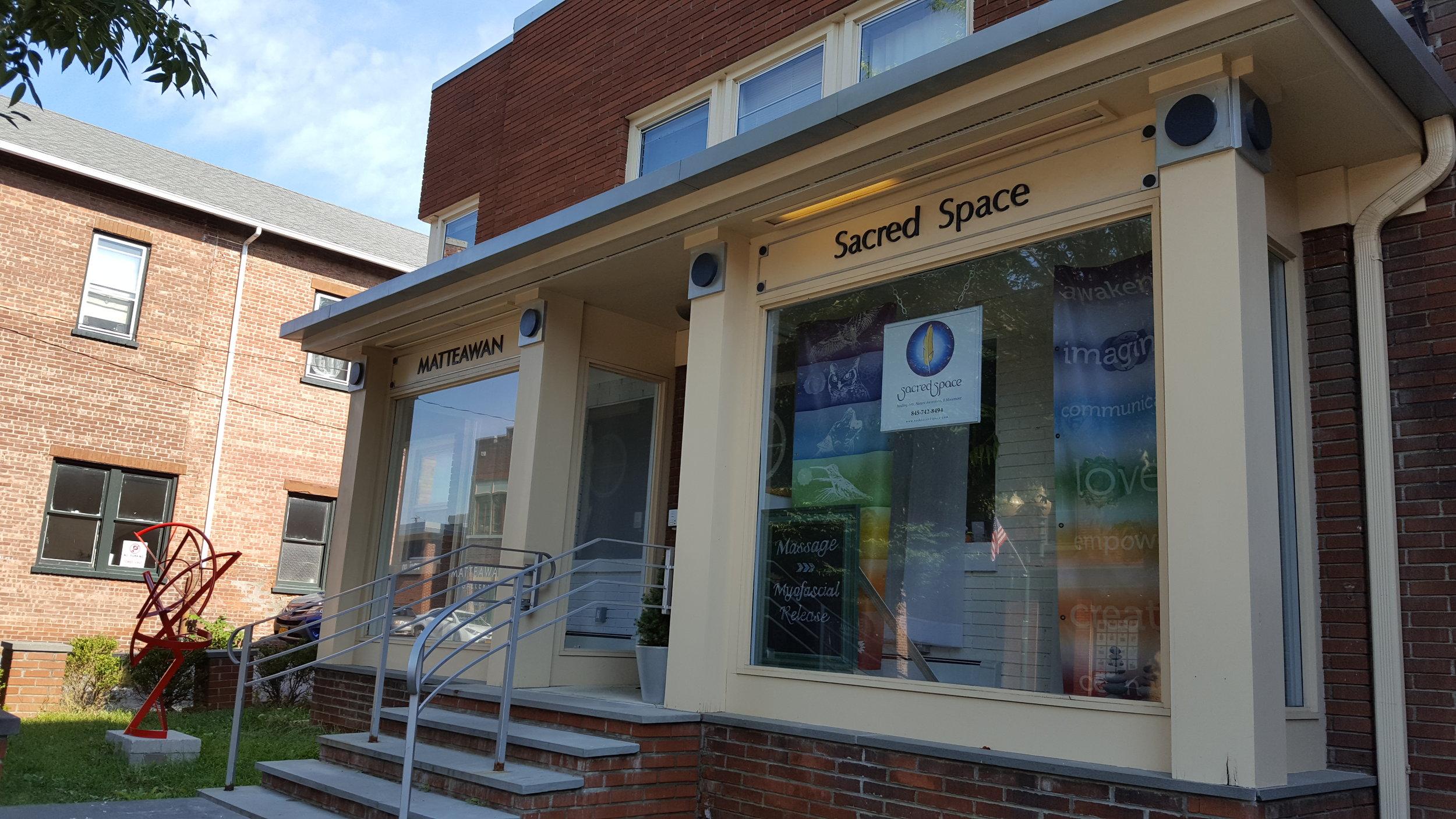 Sacred Space, 436 Main Street, Beacon, NY 12508