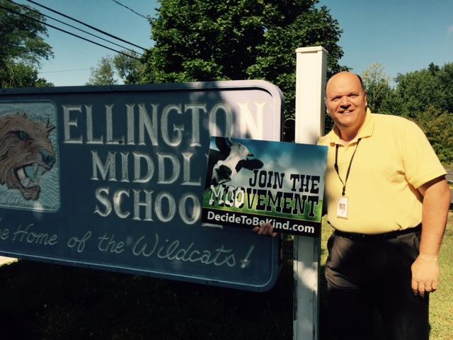 Principal David Pearson, Ellington Middle School