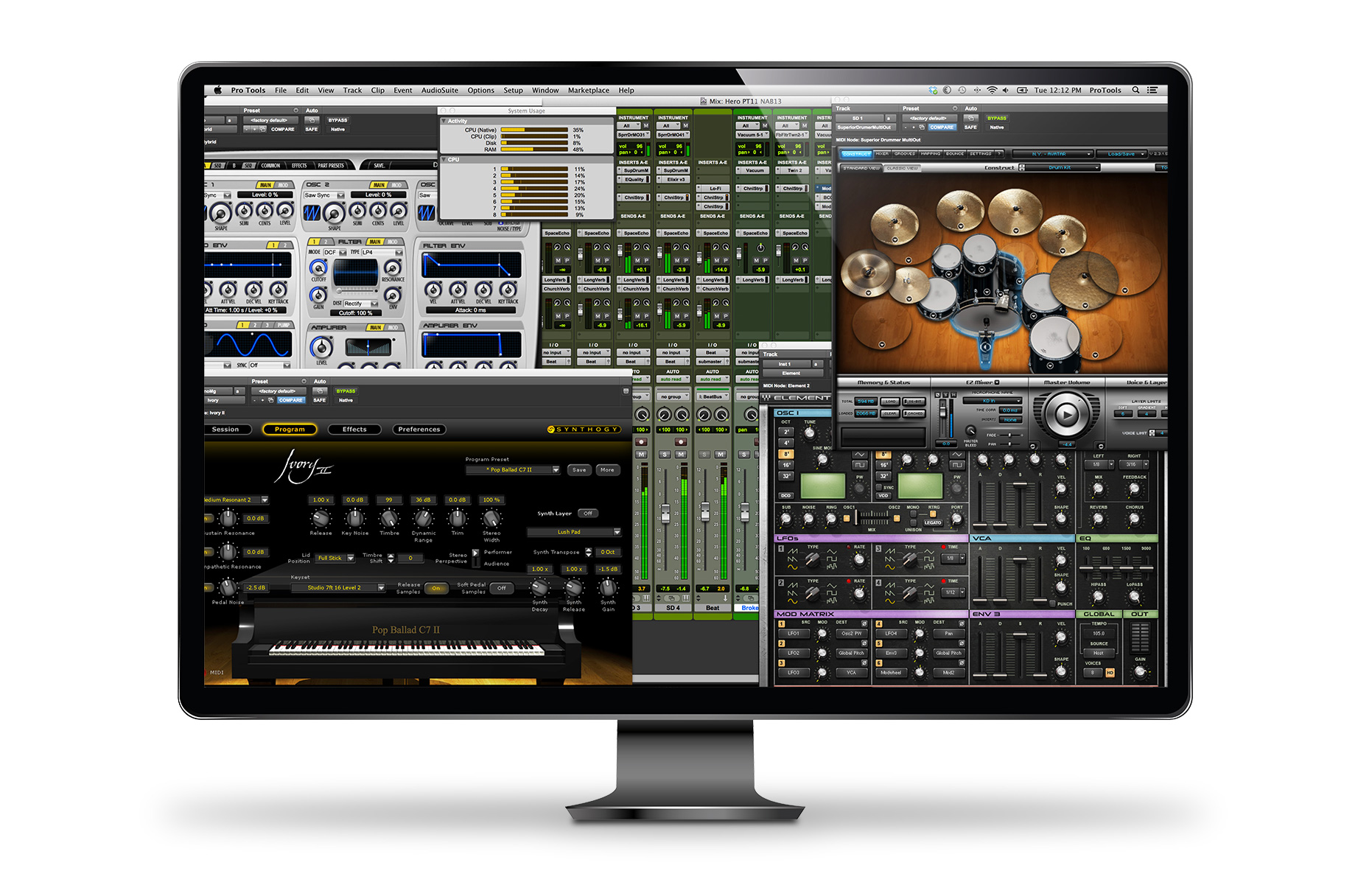 Pro Tools - Create. Collaborate. Be Heard. Make your mark with Pro Tools.