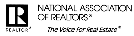 National Association of Realtors website