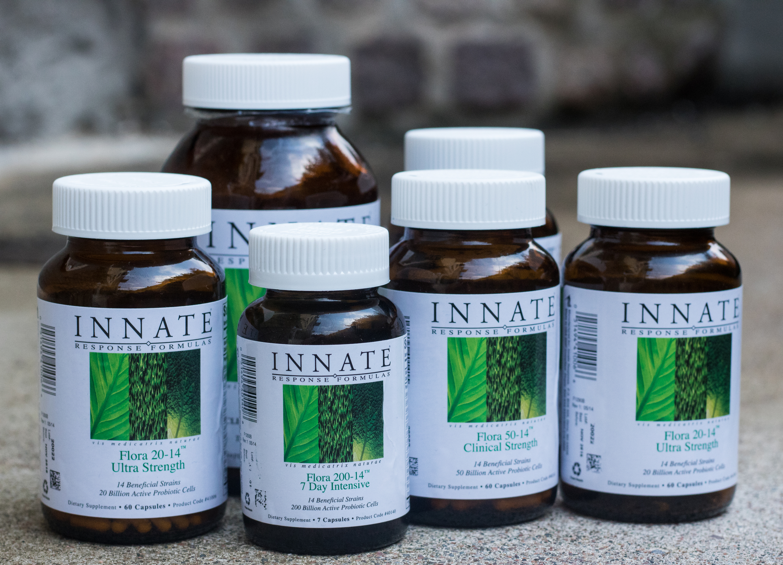 I USE PROBIOTICS FROM INNATE AND I'M VERY PLEASED WITH IT. THEY HAVE A GREAT 7 DAY INTENSIVE, AN EXCELLENT HIGH QUALITY PROBIOTIC FOR PEOPLE WHOSE SYSTEM HAS BEEN COMPROMISED.