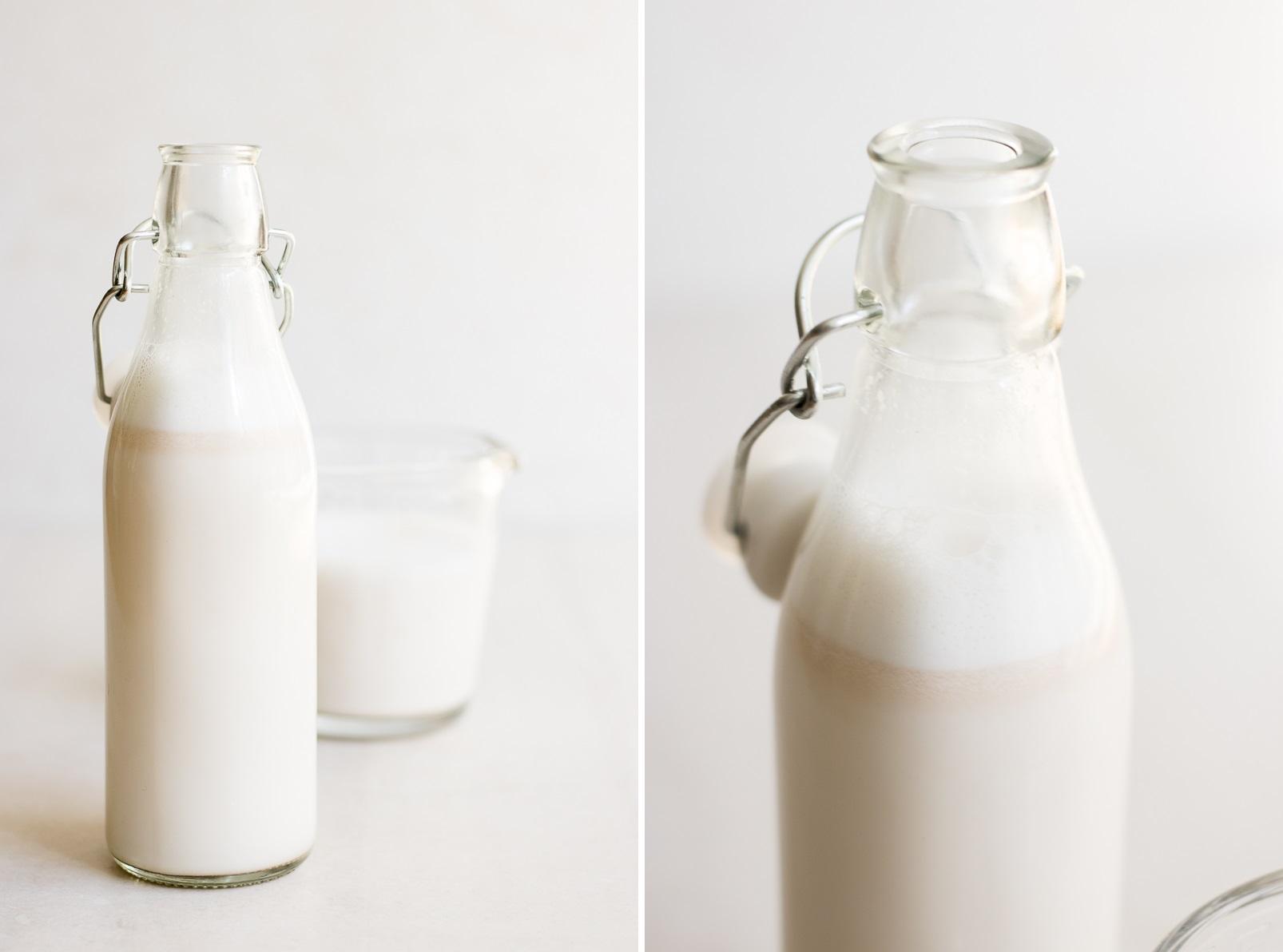Raw almond milk
