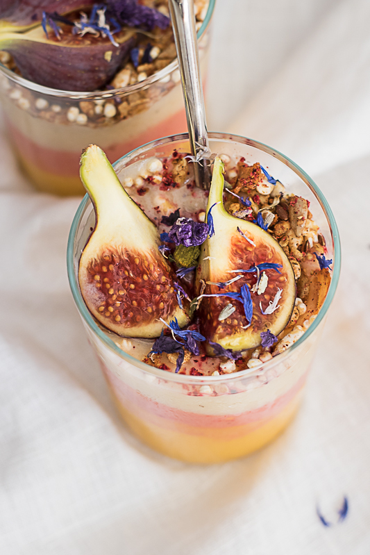 Food Photography sunrise cup