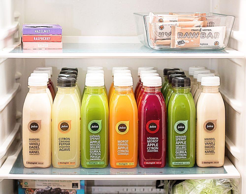 Juice fridge