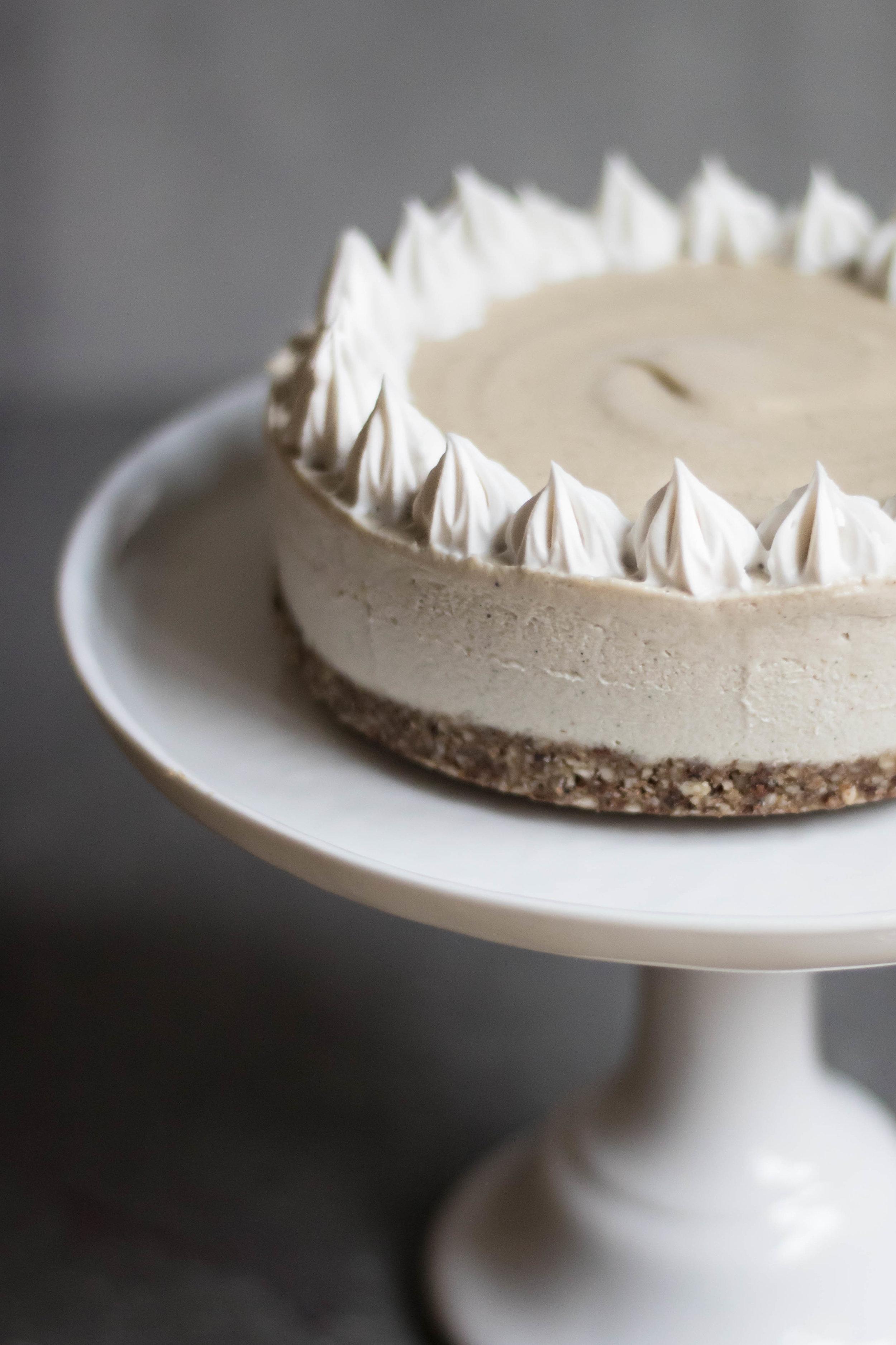 Raw semmel-tårta
