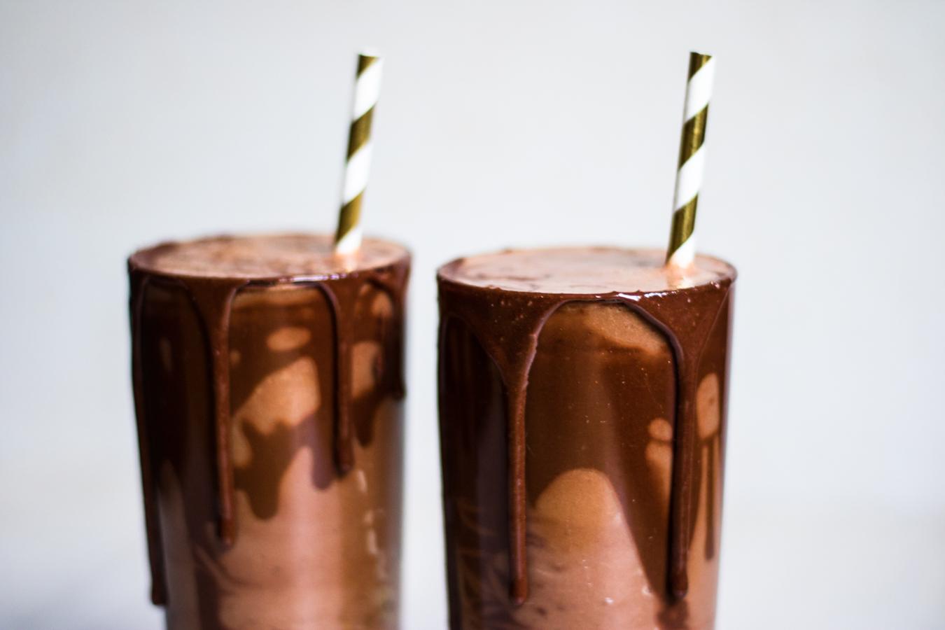 raw choklad smoothie recept