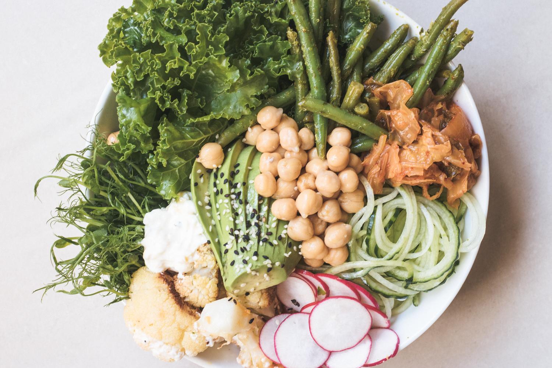 Rensa kylen-Buddha bowl vegan recept glutenfri