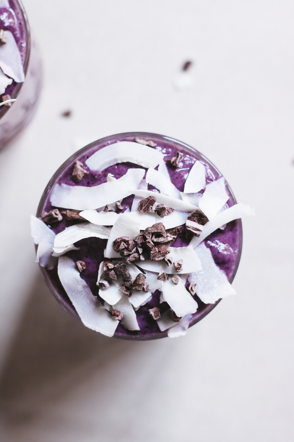 Purple godness smoothie