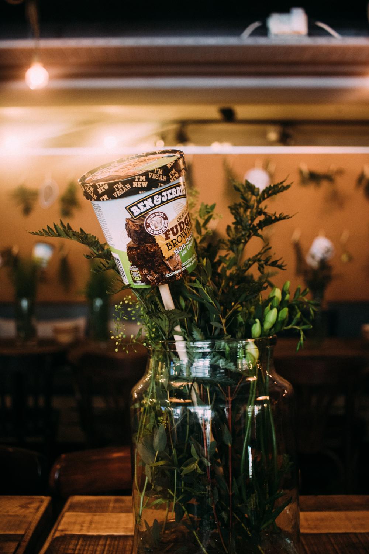 Sverige lansering av Ben & Jerry's Non Dairy Glass