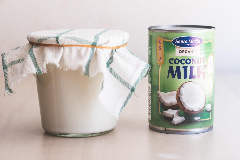 Gör din egen kokosyoghurt