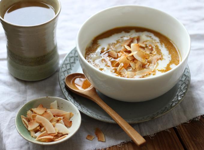 Pumpkin Pie Amaranth Porridge