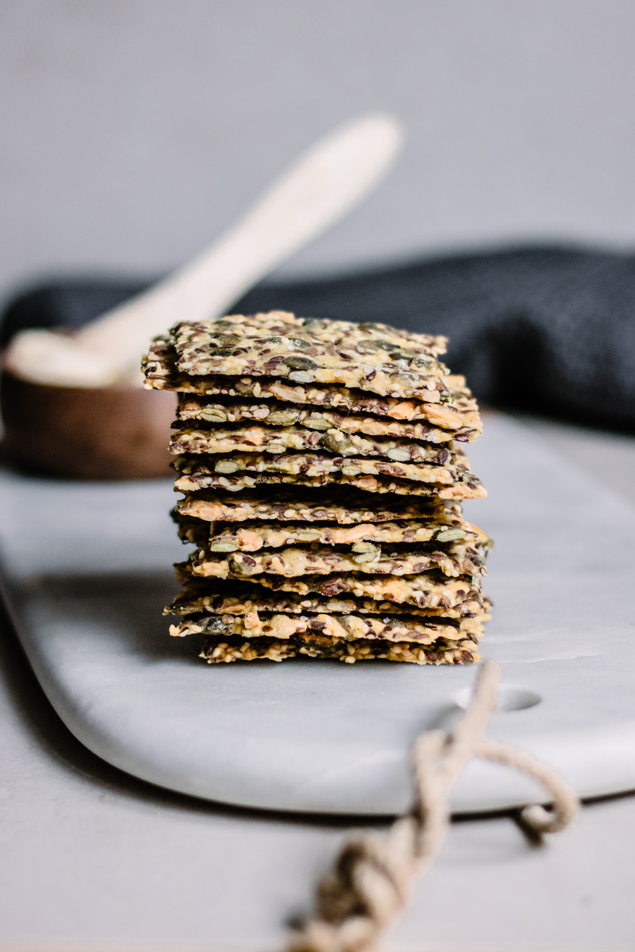 The yummiest seed crackers ever