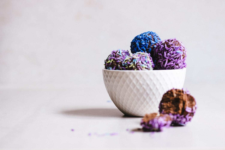 Rawbollar med mindre frukt & kolhydrater