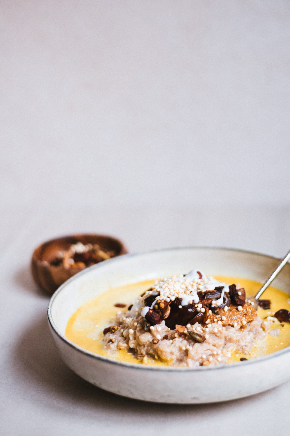 Golden milk Oatmeal
