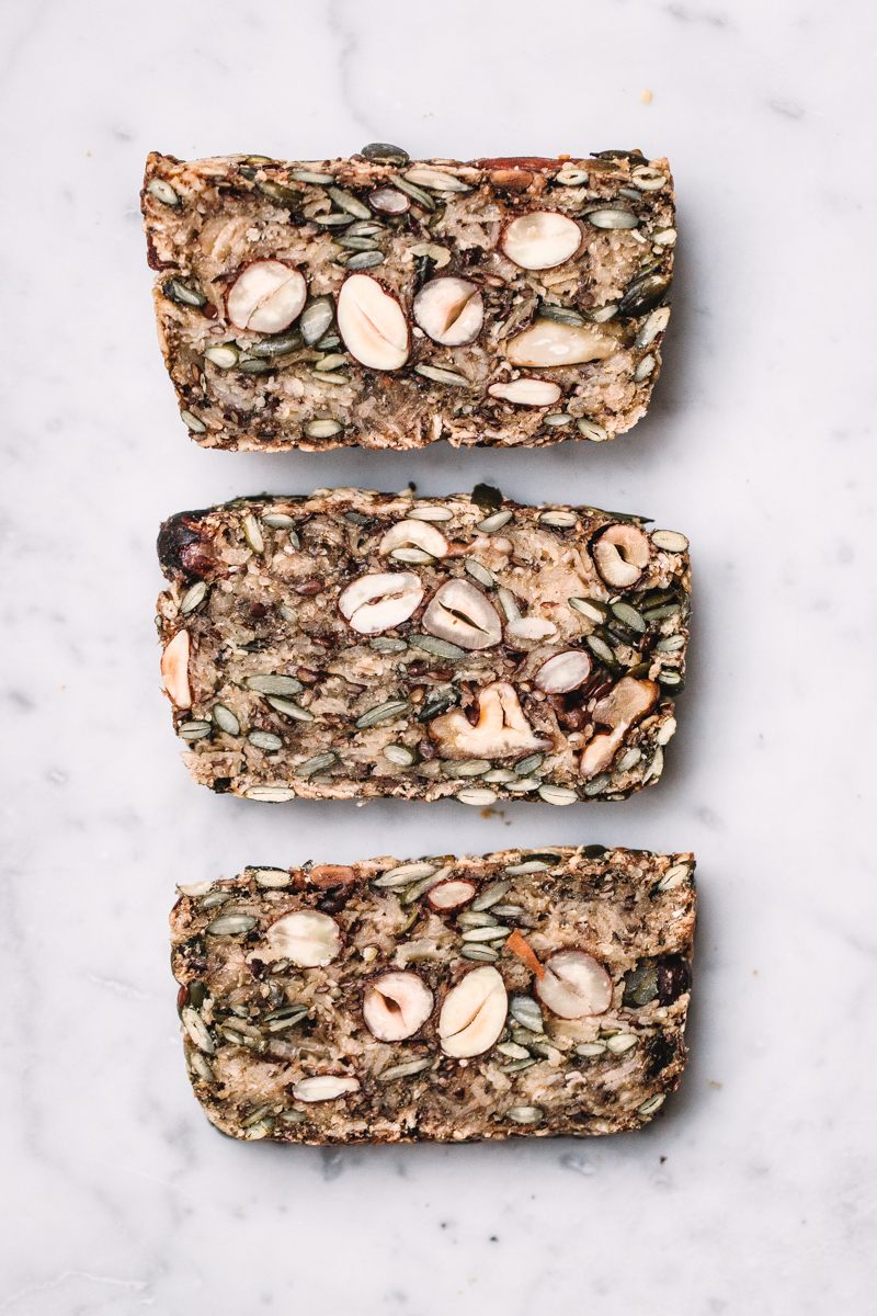 The Miracle Bread GF seed & nut bread