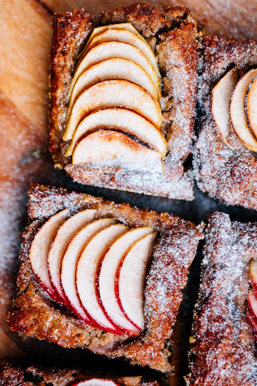 Äppelkaka vegansk & glutenfri