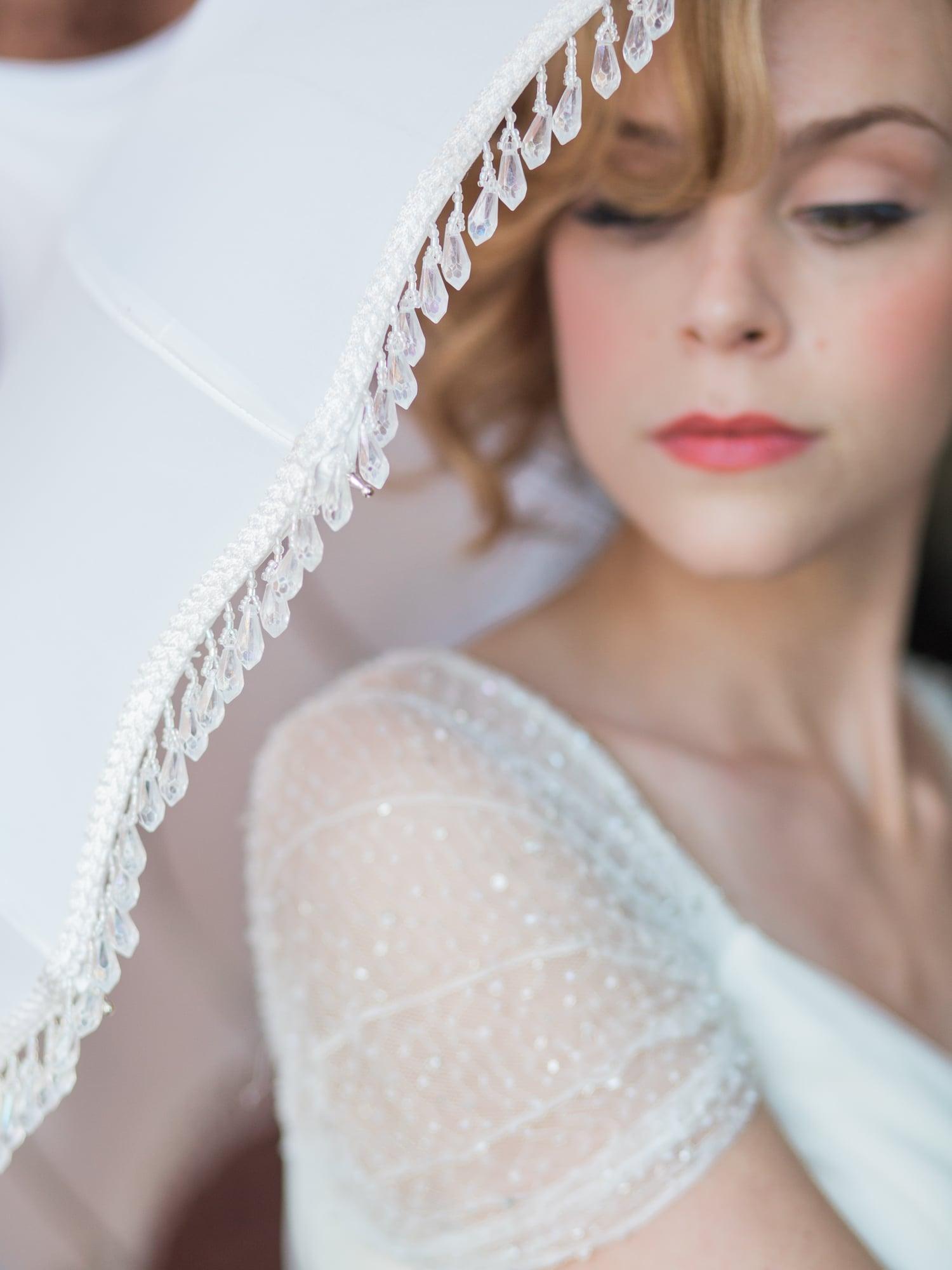 Bella Umbrella Vintage Umbrellas for Rent | Alante Photography | Seattle Wedding Planning