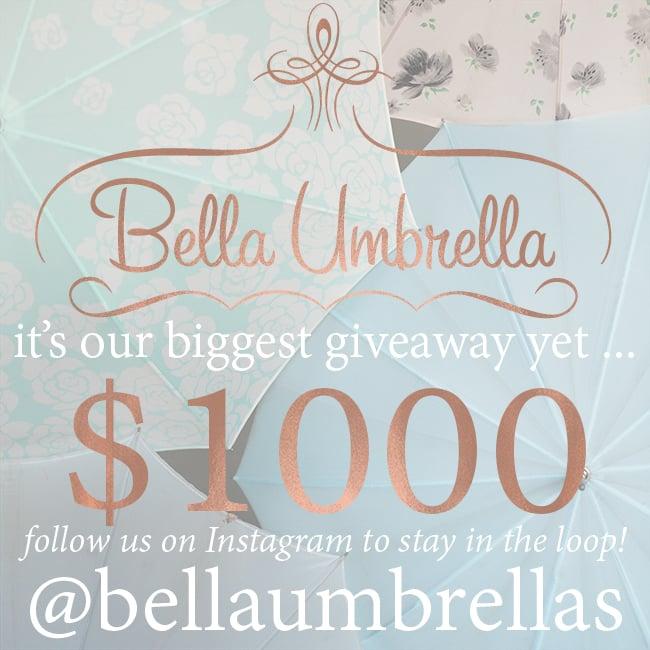 Bella Umbrella Giveaway