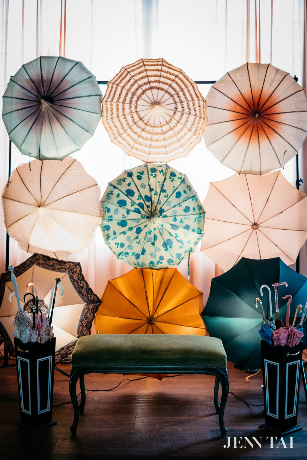Our favorite new feature here at Bella Umbrella is our gorgeous Umbrella Wall!