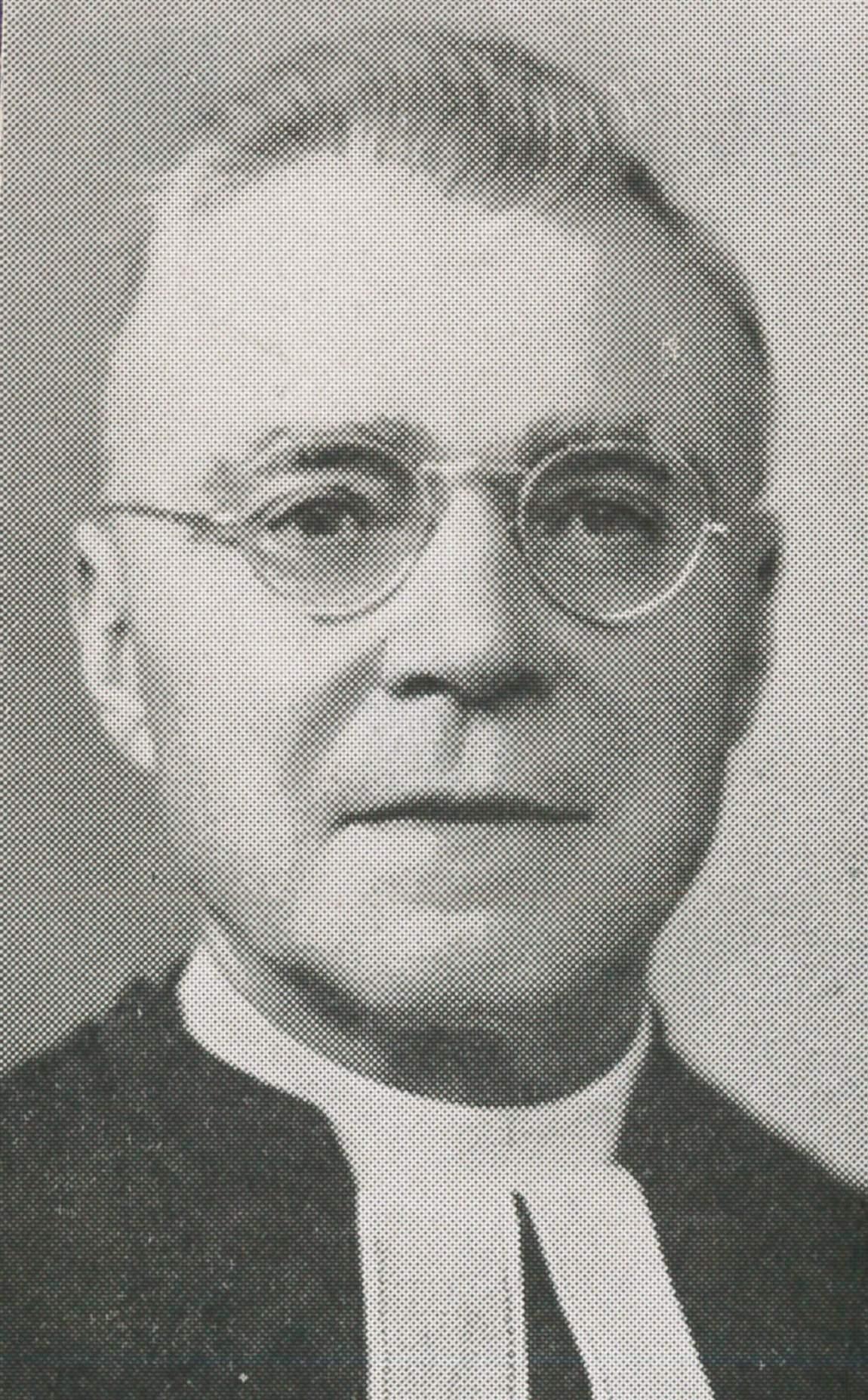 Rev. H. W. Ellenberger