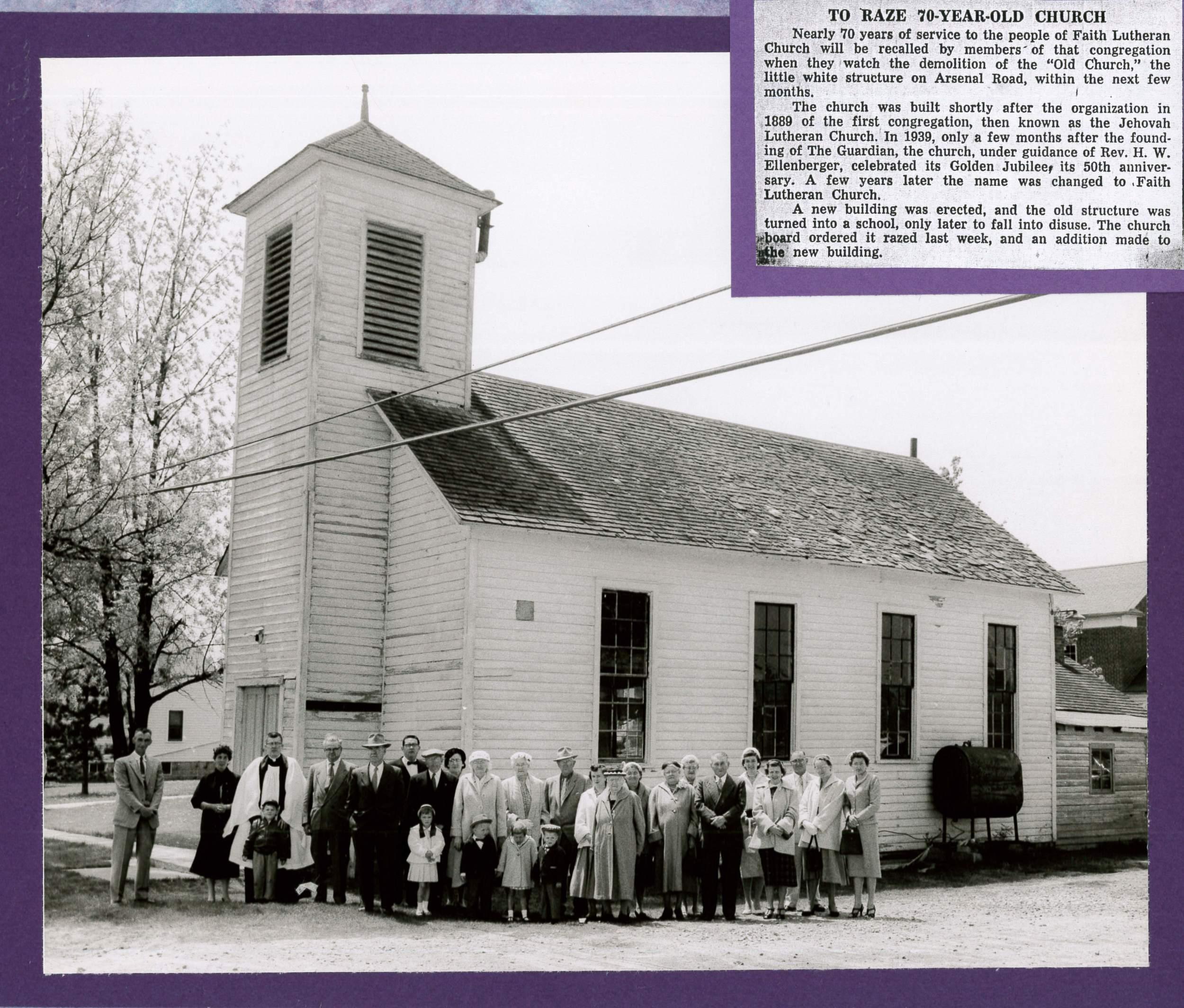 70 Year Old Church Razed