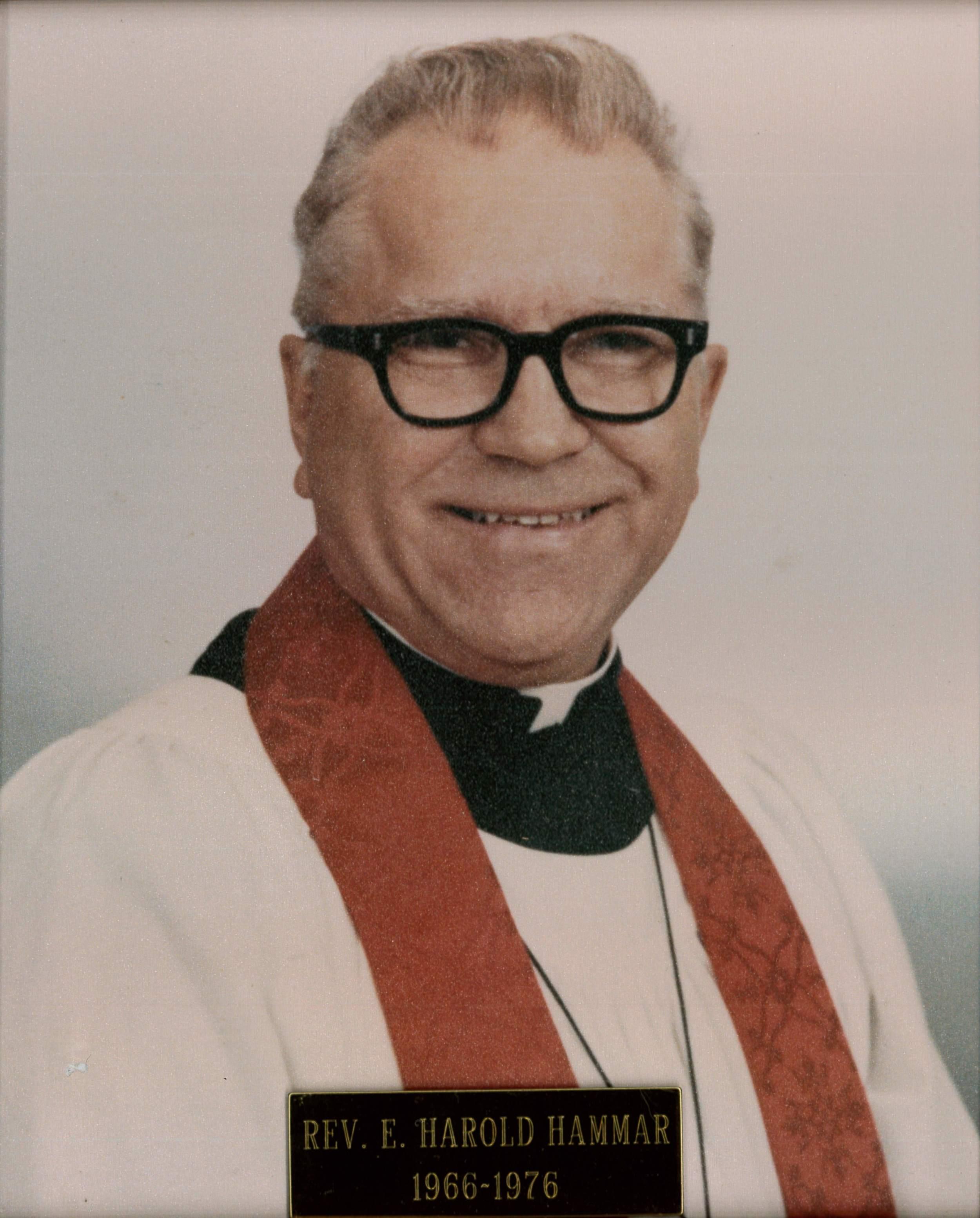 Rev. E. Harold Hammer