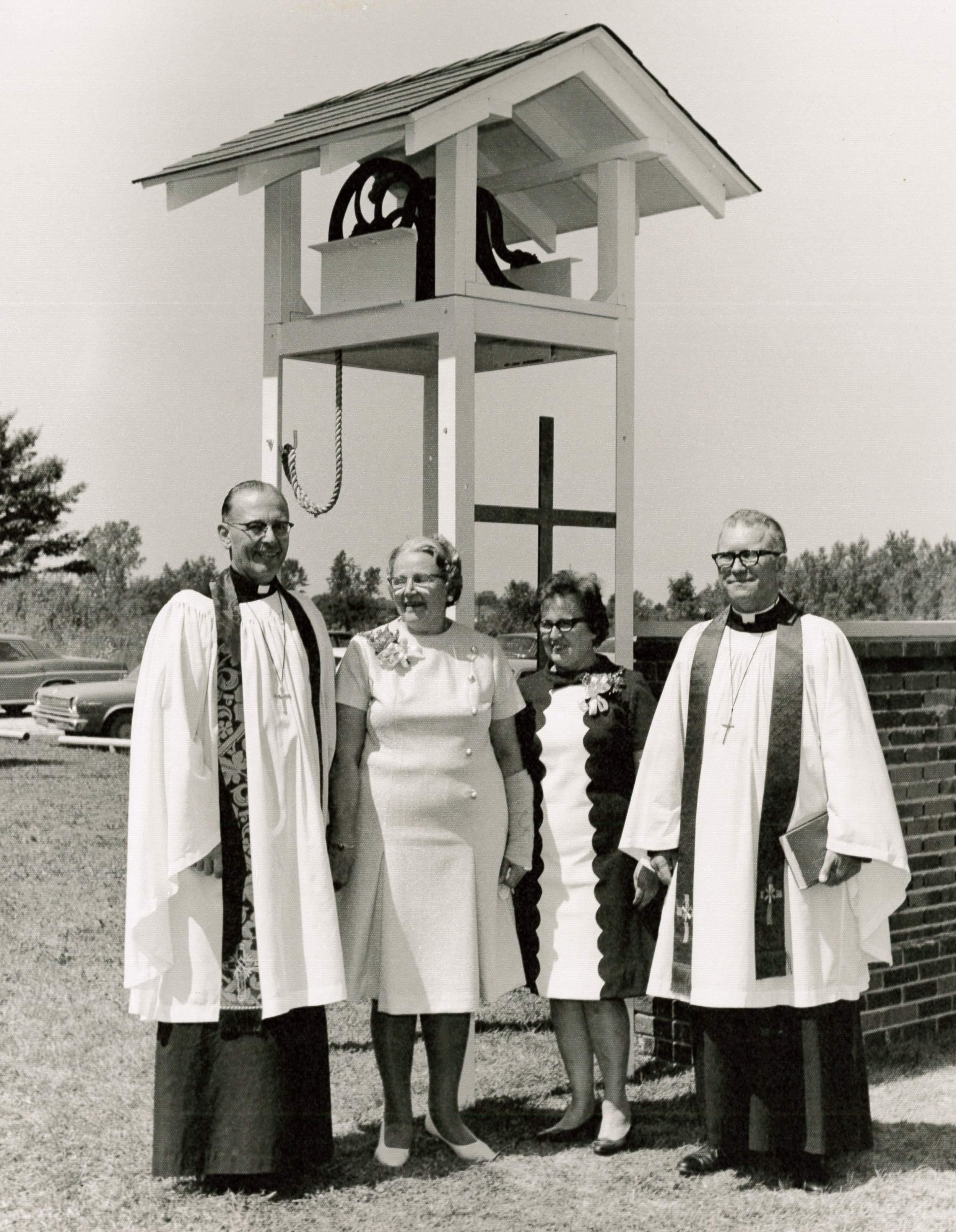 Bell Memorial Dedication