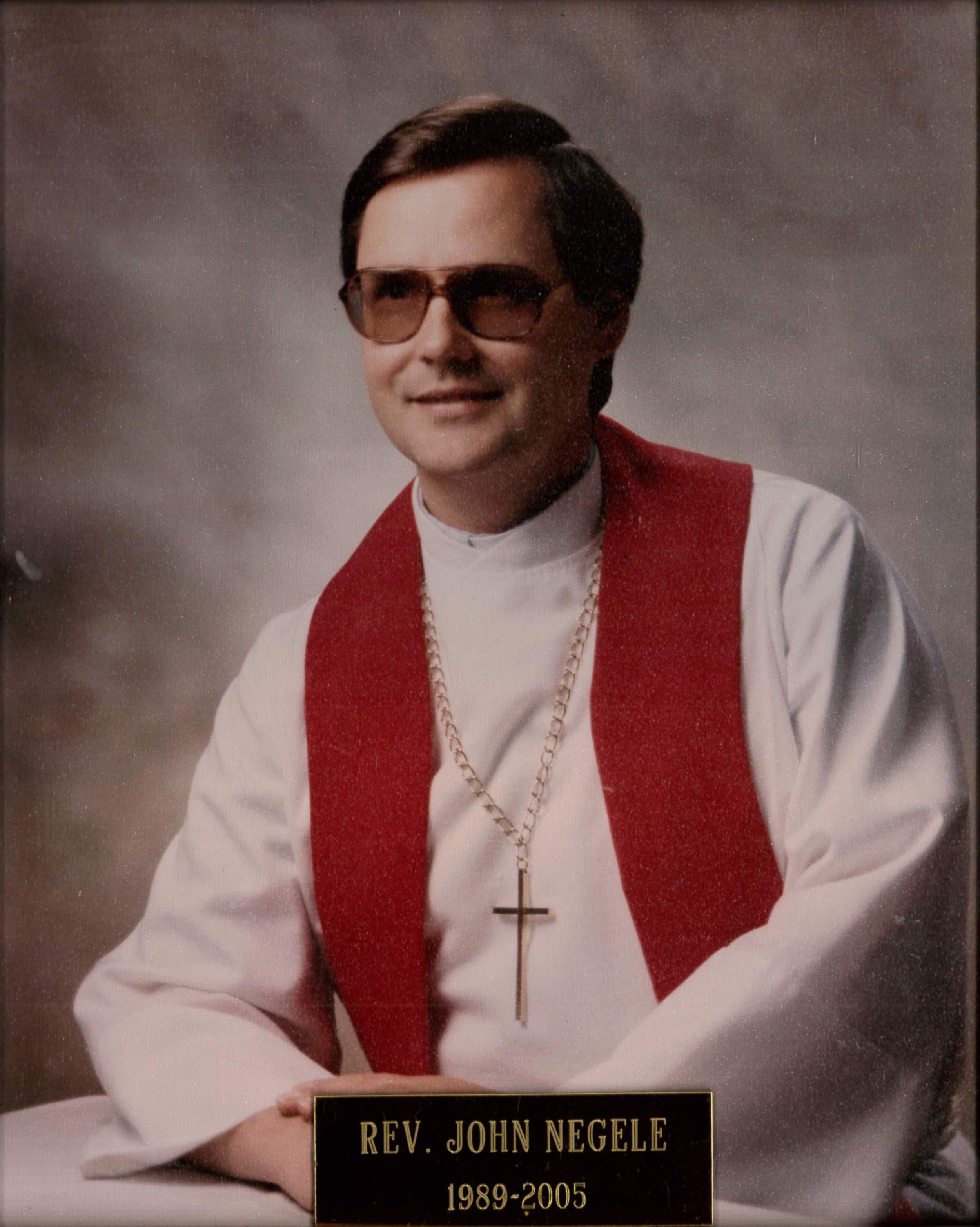 Rev. John Negele