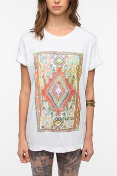 Urban Outfitters Neon Aztec Tshirt
