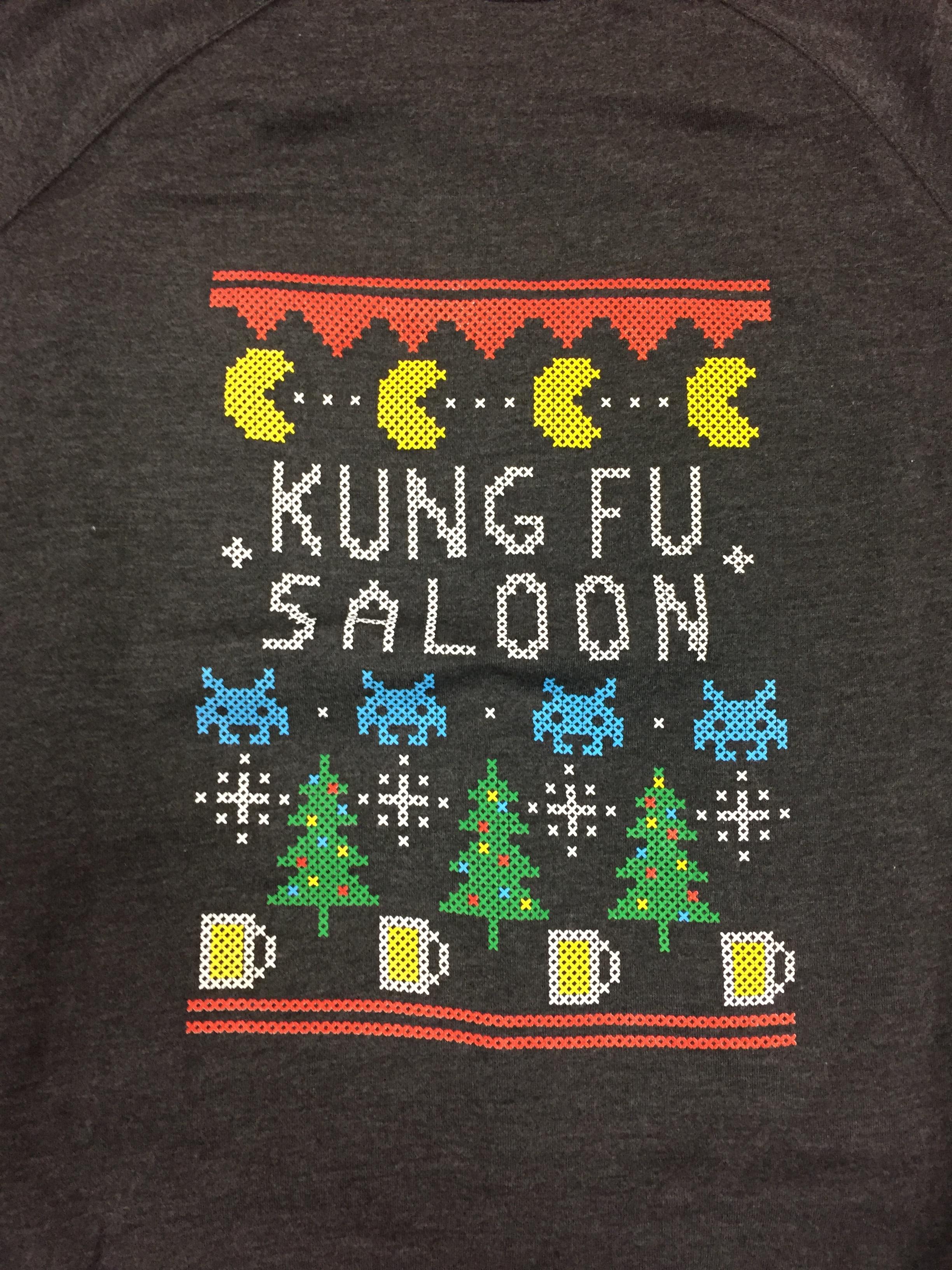 Kung Fu Saloon Design