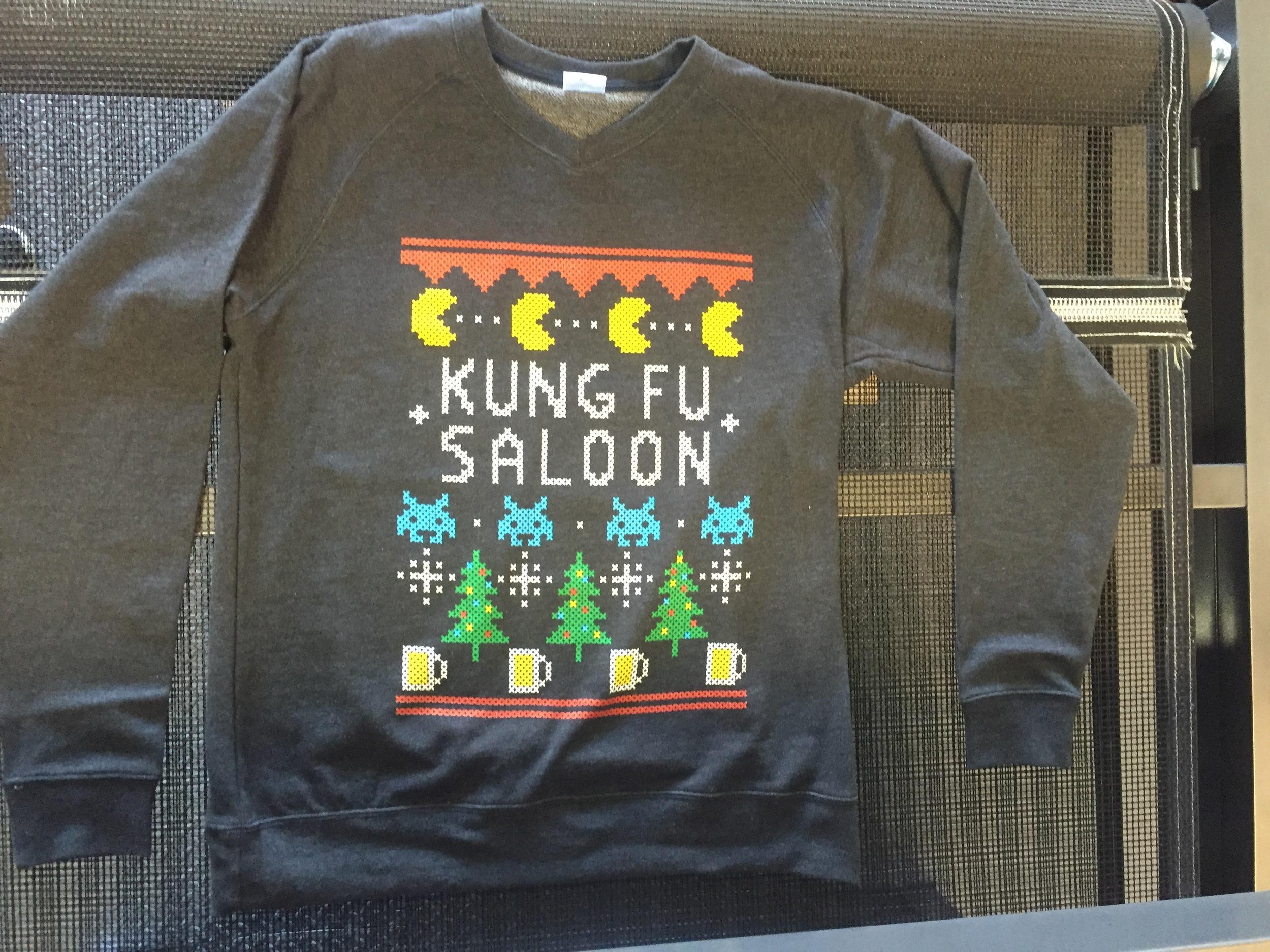 Kung Fu Saloon Shirt Design
