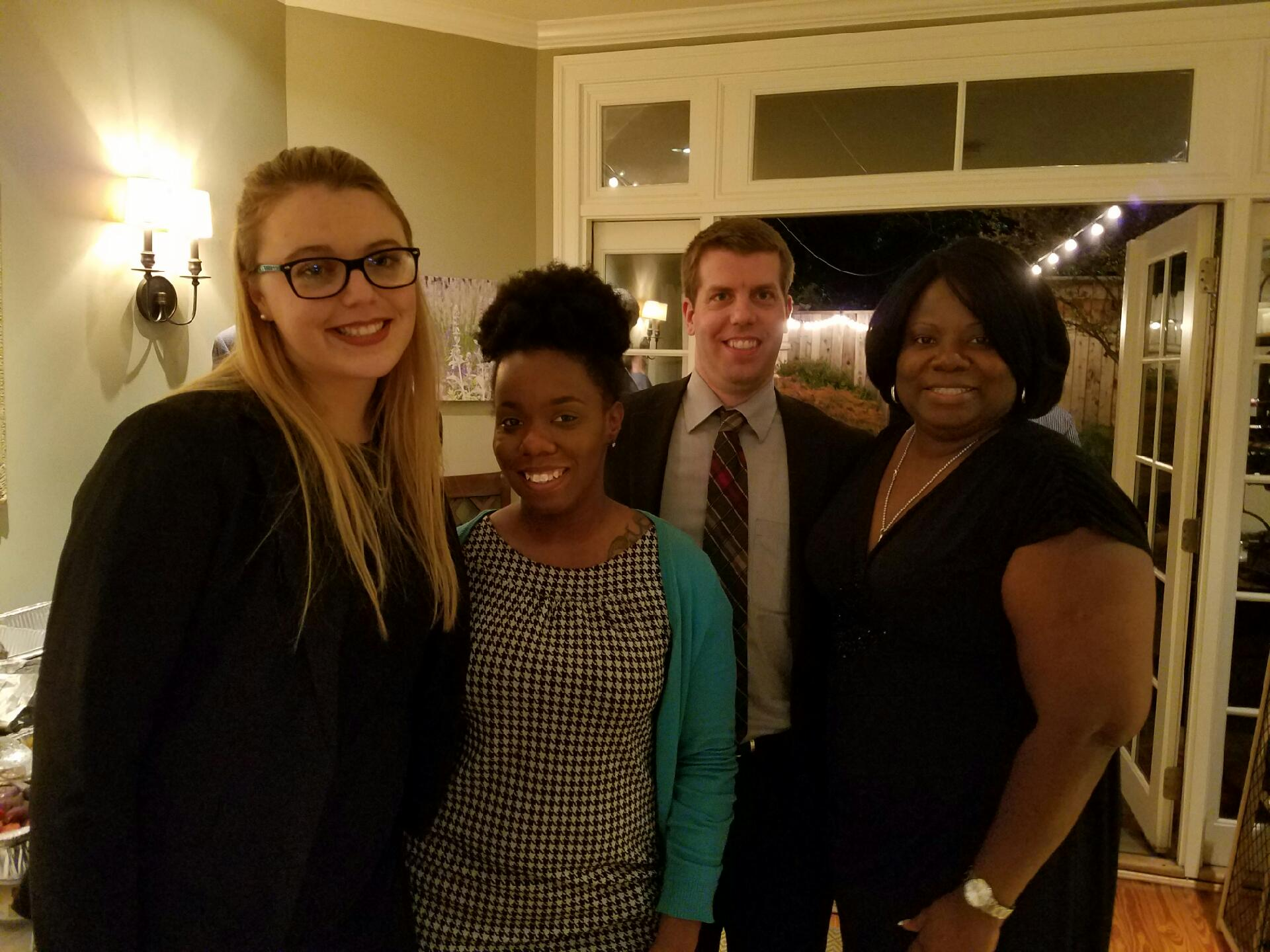 The DCC team, from L to R: Emma Gross, Breyana Franklin, Peter Morscheck, and Marsha Smith