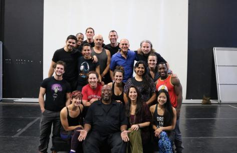 IBUKI Rehearsal with Maggie Wheeler and Emile Hassan Dyer of Golden Bridge Community Choir
