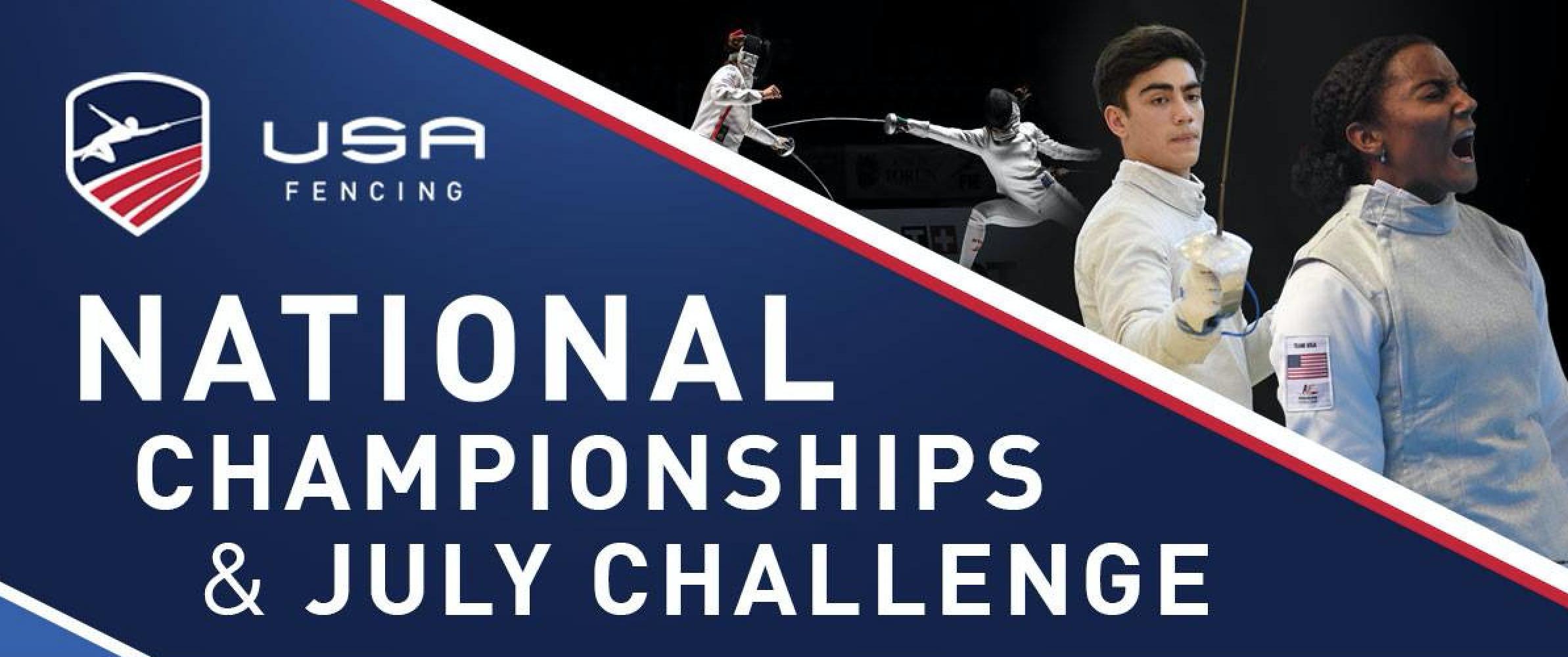 Medal Count Leaderboard - USA Fencing Summer Nationals 2019