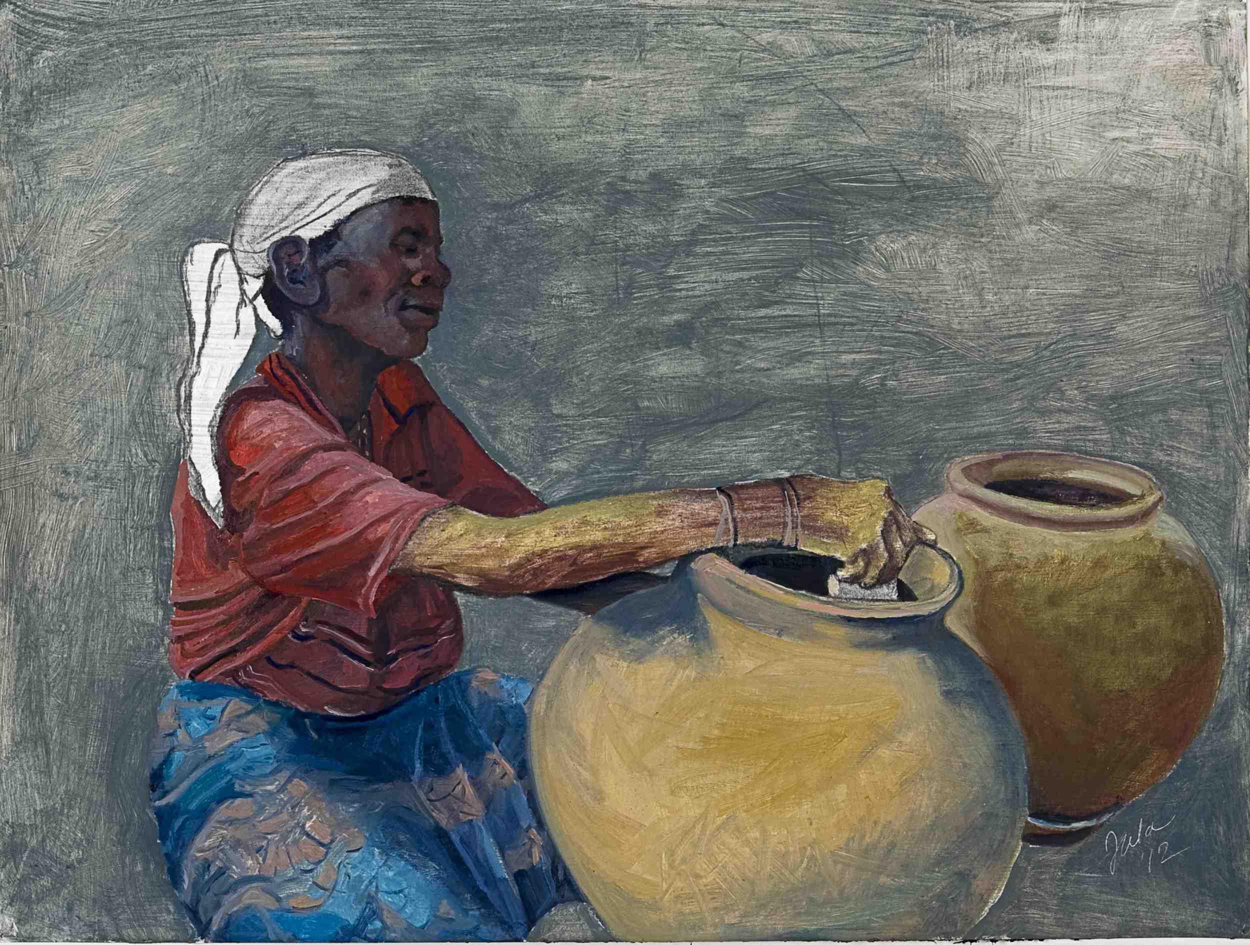 Batwa Potter 2- Copyright 2012