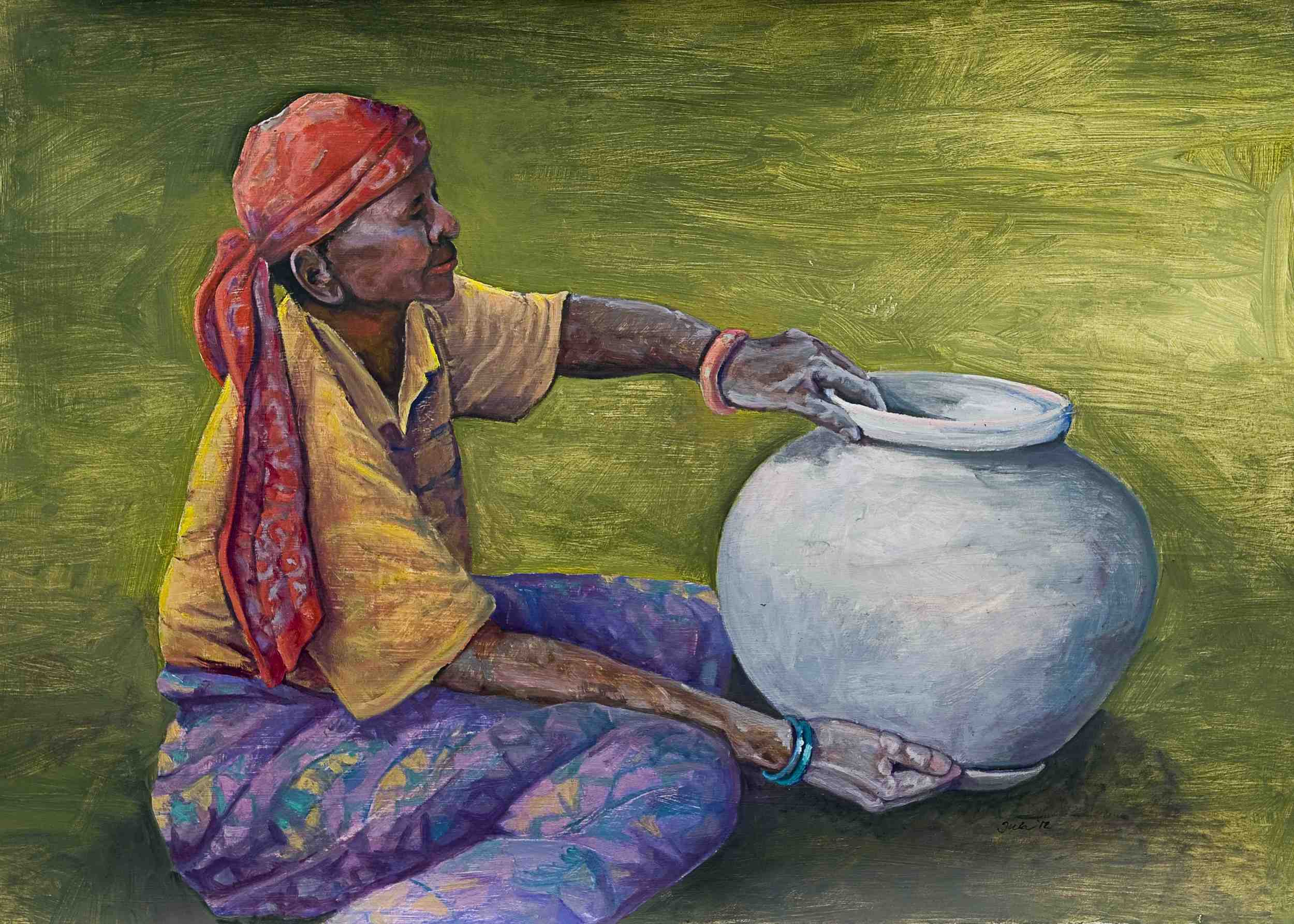 Batwa Potter-Copyright 2012