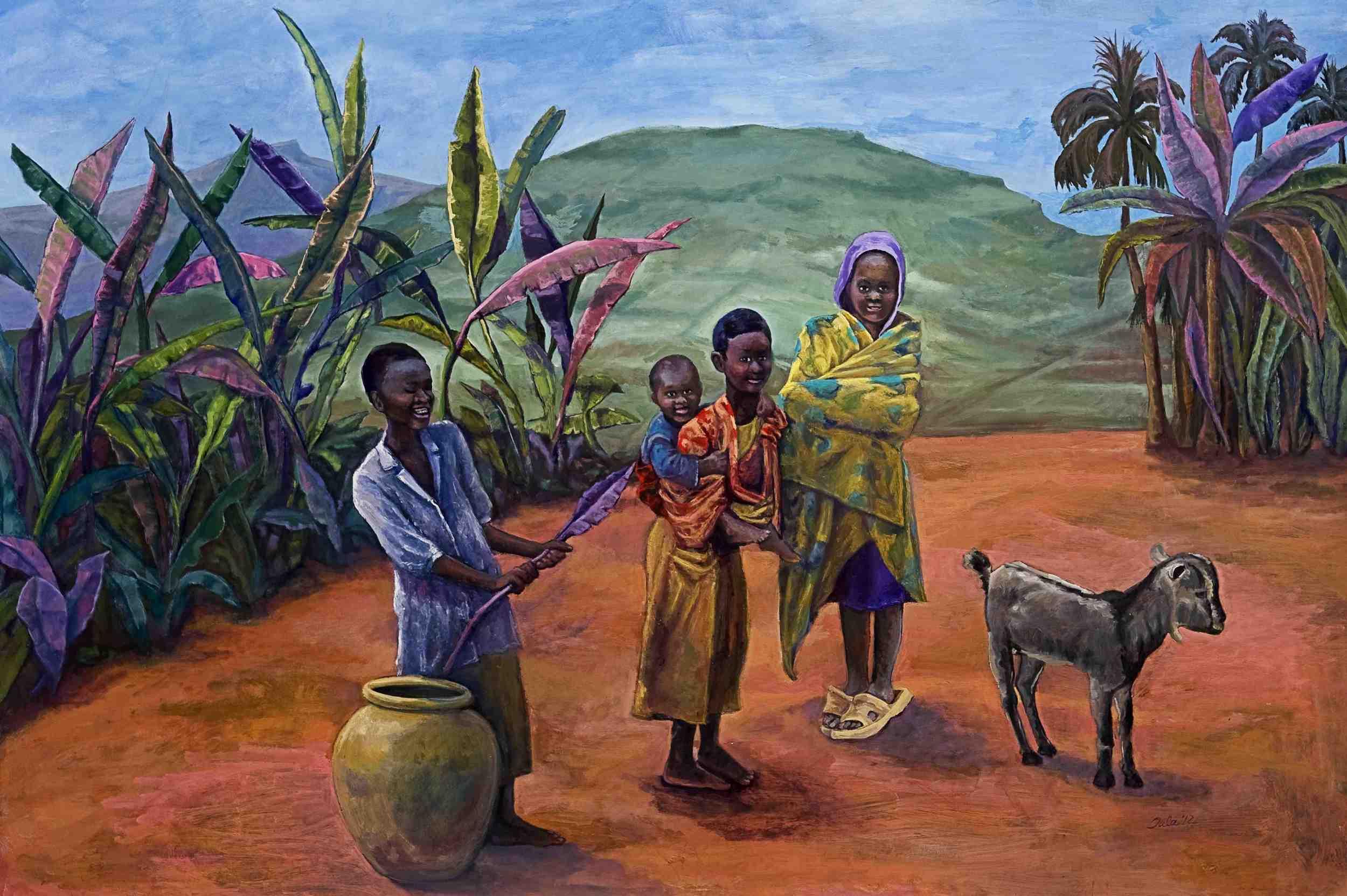 Batwa Village- Copyright 2012
